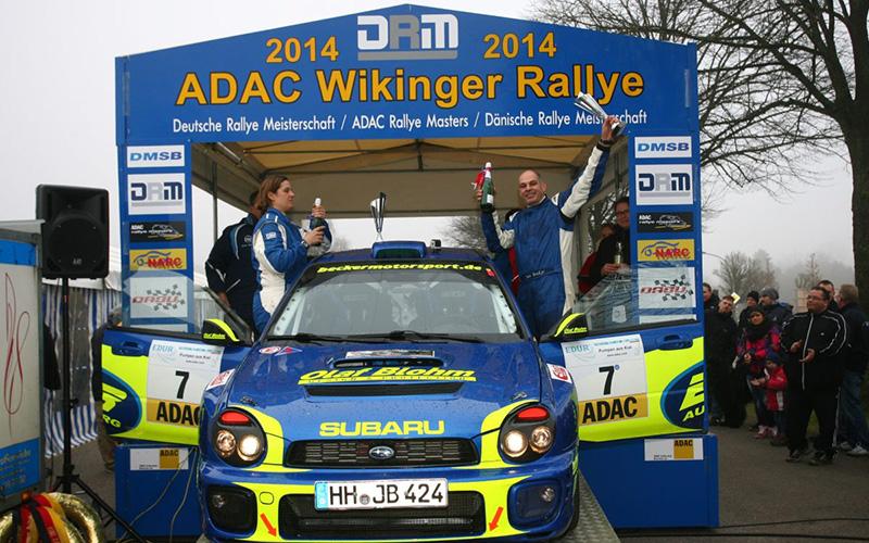 Jan Becker / Bianca Hutzfeld | Subaru WRX Sti Gruppe-H | Wikinger Rallye 2014